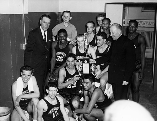 The coach had a great influence on the start of Boys Town's famous sports teams.