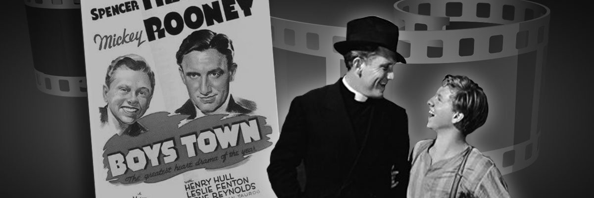 Boys Town Movie Banner