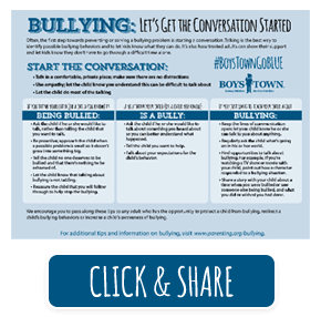 Get the Conversation Started poster