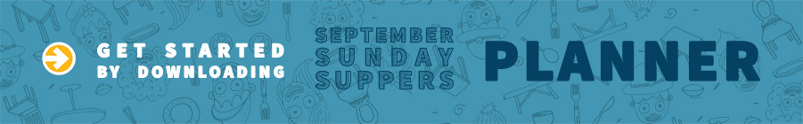 Get Started by Downloading September Sunday Suppers Planner
