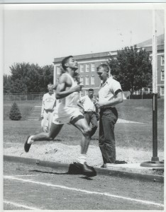 1954, Deacon Jones, Midwest AAU Track Meet, Omaha Univ.