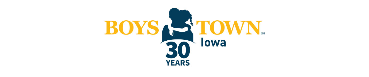 Boys Town Iowa-30yrs logo