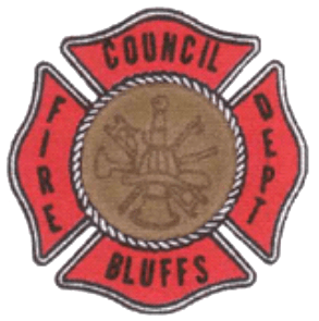 Council Bluffs Fire Dept logo