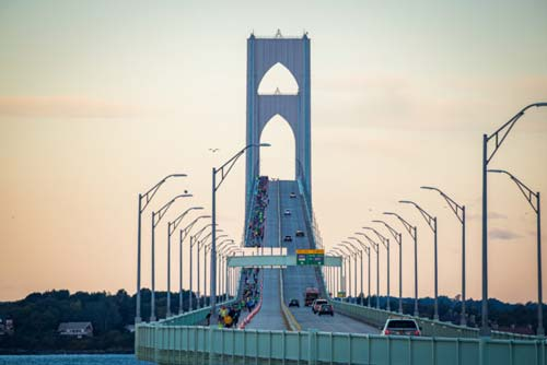 Photo Credit: Clancy Creative/Citizens Bank Pell Bridge Run.