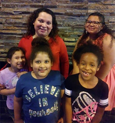 Thanks to Boys Town New England, Ana and her four girls have much more to smile about today.