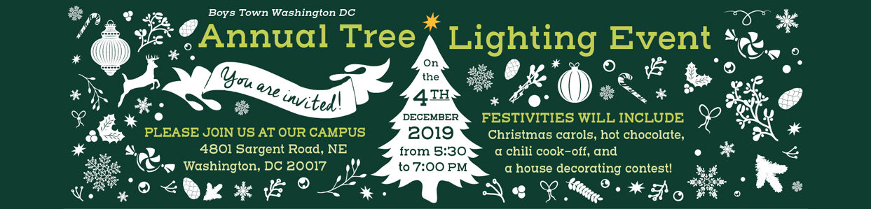 Annual Tree Lighting Event