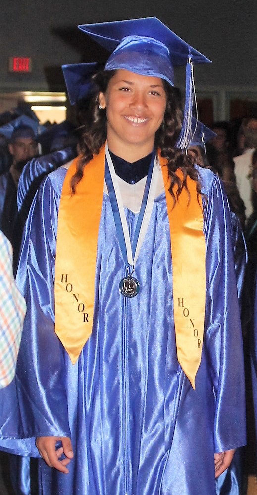 Mikahla Russell graduated in May from Boys Town.