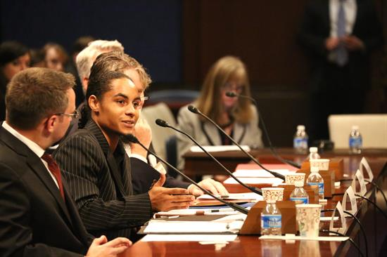 Sloane provided impactful testimony during a hearing on a federal juvenile justice bill before the House Committee.
