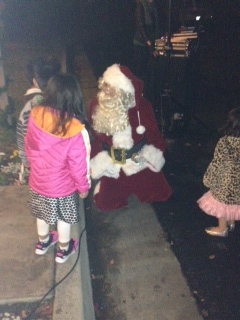 One lucky youth gets to meet Santa at Magical Christmas!