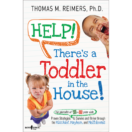 """Help, there's a Toddler in the House"" book cover"