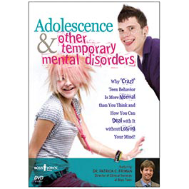 """Adolescence and Other Temporary Mental Disorders"" cover"