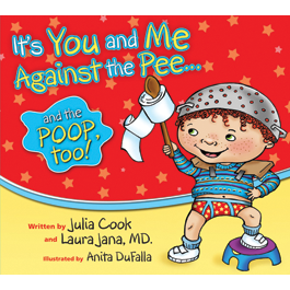 """It's You and Me Against the Pee... and the Poop Too"" cover"