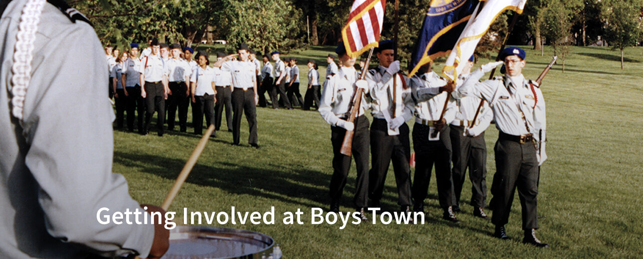 Getting Involved at Boys Town
